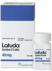 لوراسیدون - لاتودا